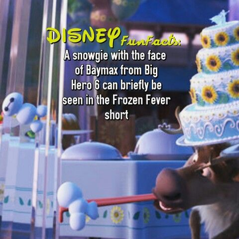 Frozen Fever Disney fact