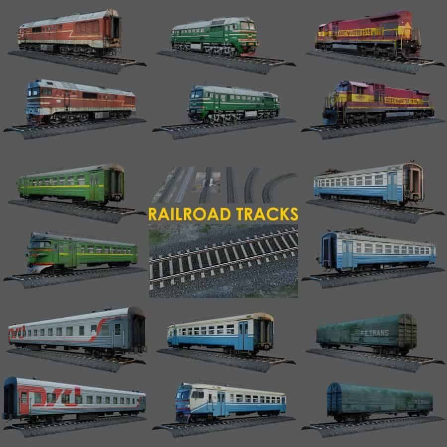 Free 3d Models Train With Images Model Trains 3d Model Model