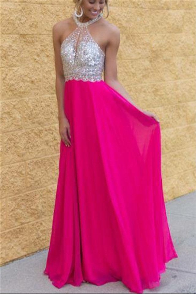 Fuschia Formal Dresses