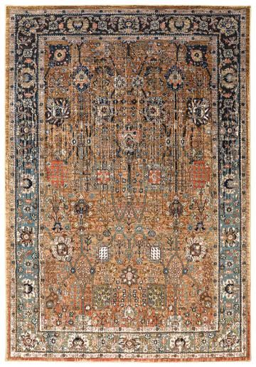Festival Area Rug Synthetic Rugs Machine Made Traditional Transitional