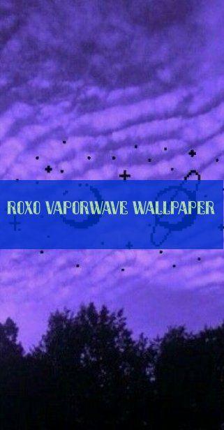 Roxo vaporwave wallpaper