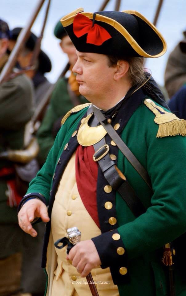 Hessian Jaeger Officer 1776 British Army Uniform