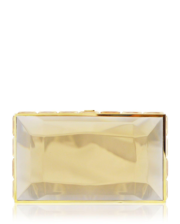 Judith Leiber Faceted Box Clutch Bag 5O2Zq41