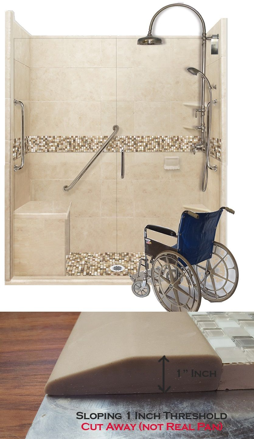 Stone And Glass Mosaic Freedom Shower Kits From 2 182 Now With