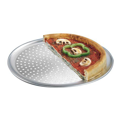 American Metalcraft Ptp10 Perforated Wide Rim 10 In Aluminum Pizza Pan You Can Get More Details By Clicking On The Image Pan Pizza American Metalcraft Pizza