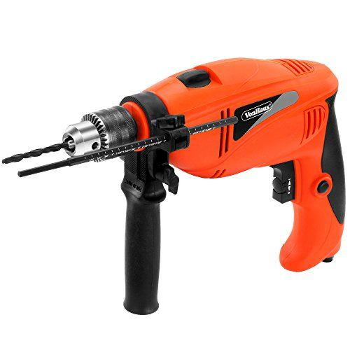 Vonhaus Corded 65a 12inch Hammer Drill With 9pc Drill Bit Set Power Tool Carry Case Want To Know More Click On The Image