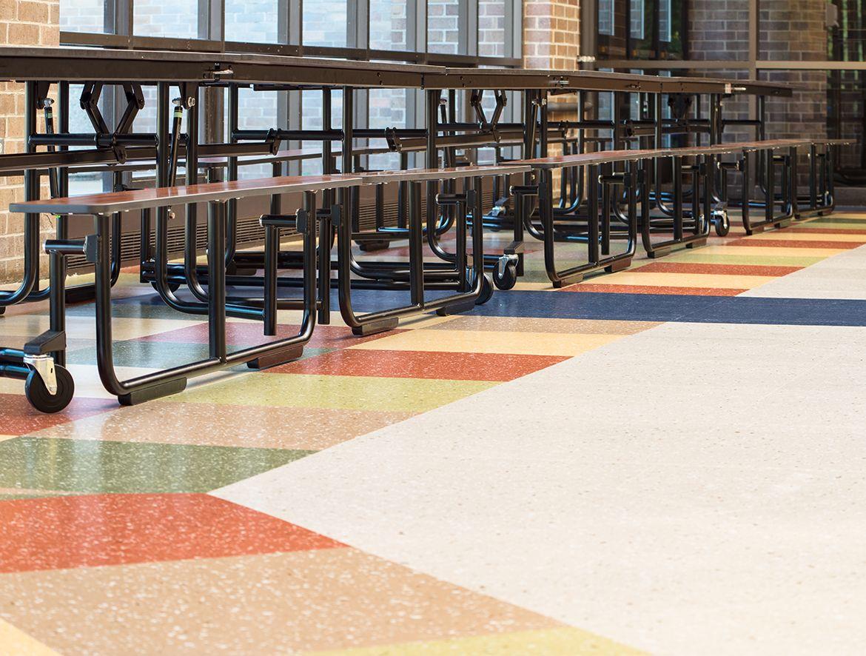school tile floor. Beautiful Tile Geneva High School IL US Quartz Tile Flooring For School Tile Floor R