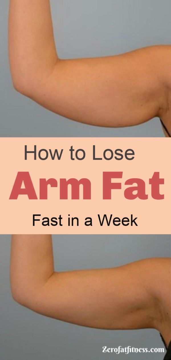 Do you Want to Get Rid of Flabby Arm Fat? Try These Tips on How to Lose Arm Fat Fast in a Week - 9 B...