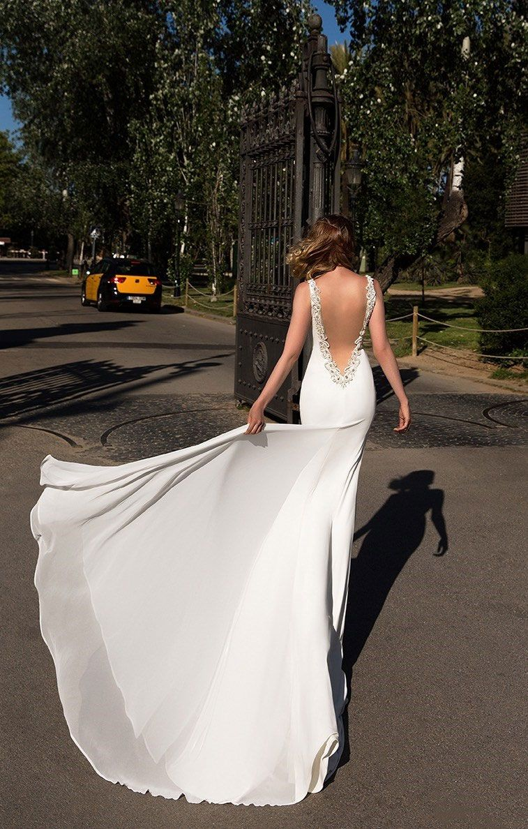 79 Beautiful Simple Wedding Gowns That Will Leave You Speechless