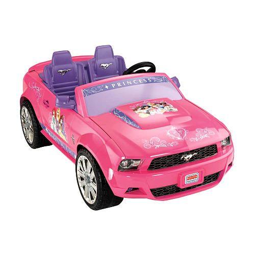 Power Wheels Disney Princess Ford Mustang Power Wheels