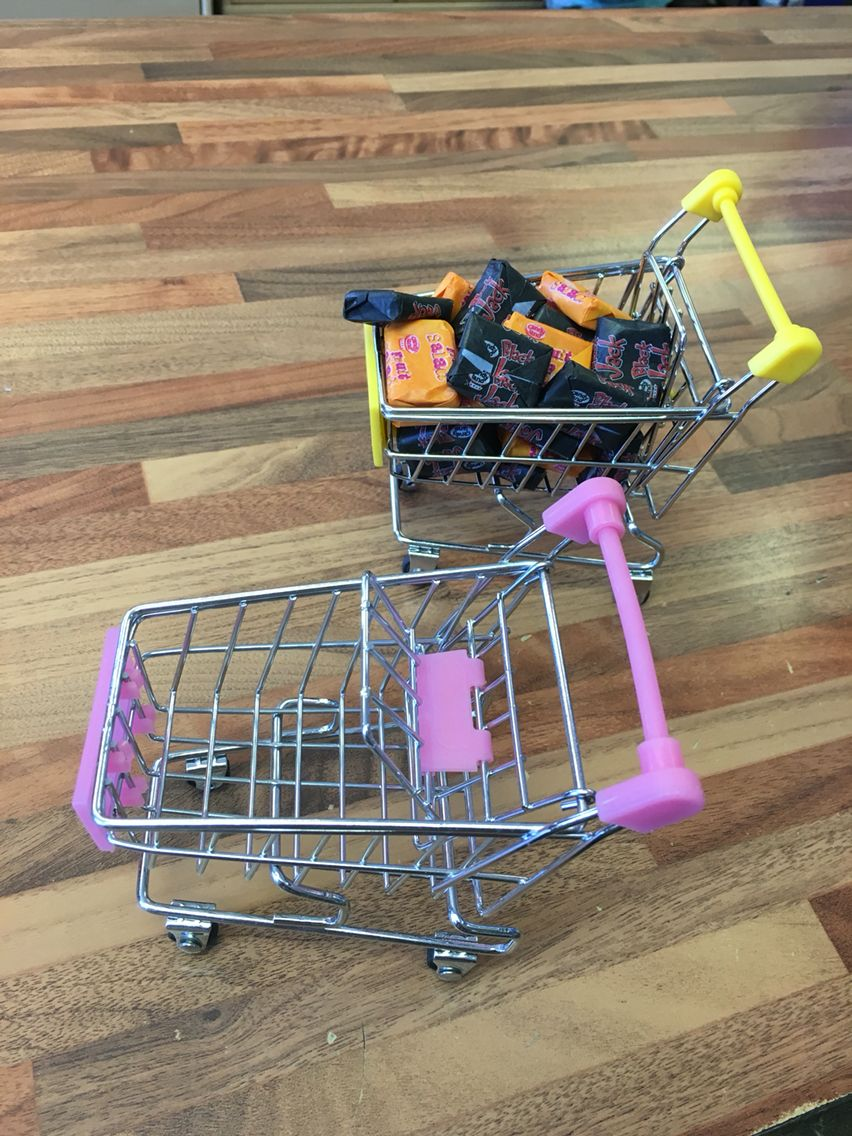 Mini trollies with or without sweeties  https://www.facebook.com/groups/1809238519305599/