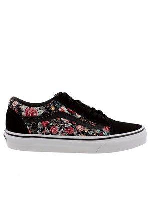 Vans Multi Floral Old Skool Trainers #Floral #Vans #Summery