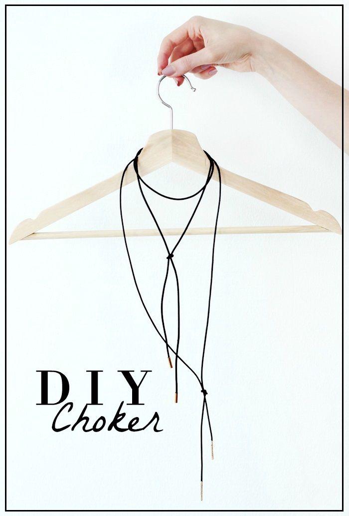 DIY Choker Fashionblogger