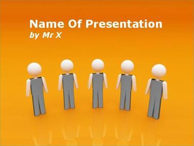 team work powerpoint presentation template | presentation, Powerpoint templates