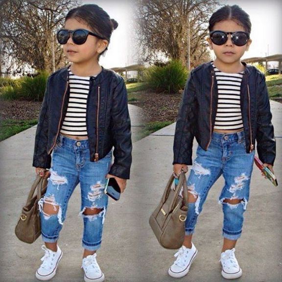 Cute baby girl clothes outfits ideas 17