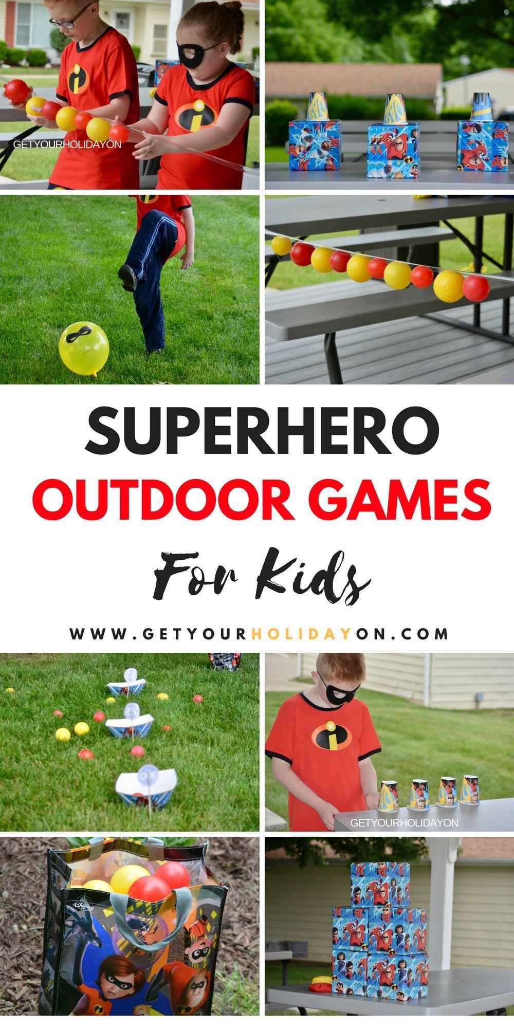 9 of the best superhero outdoor games ive seen momlife