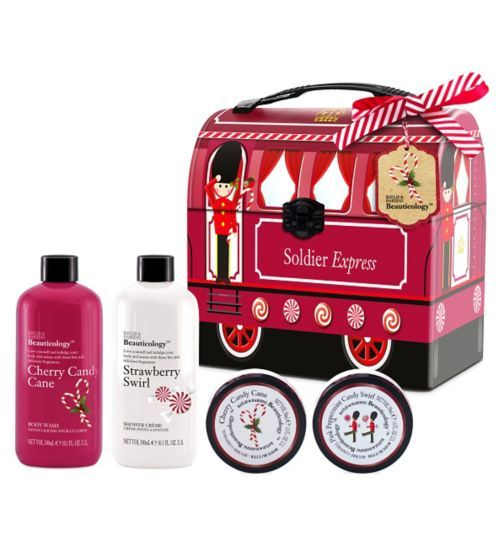 Baylis & Harding Beauticology Soldier Train Tin Gift Set