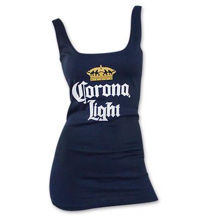 38f9d98ee6ed61 Corona tank top for women!  Summer  Corona