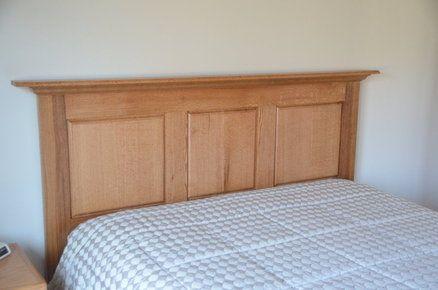 Oak Headboard headboards Queen size headboard, Bed
