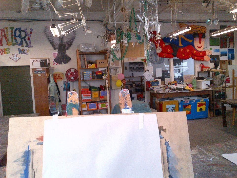 Vincent's Free Art Studio - New Zeeland Credits - Ruth Borgjford