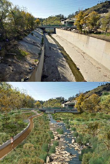 Landscape Architects Question Gehry Led Los Angeles River