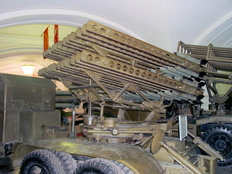 BM-8 48 Katyusha rocket launcher – WalkAround | Missile