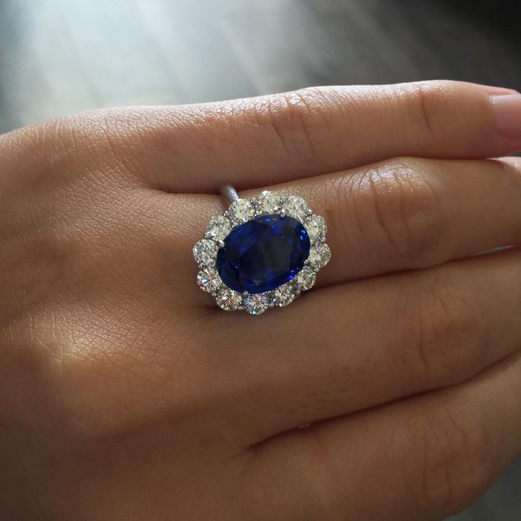 Stunning Sapphire Engagement Rings Sapphire Engagement Ring Blue Engagement Rings Sapphire Blue Sapphire Rings