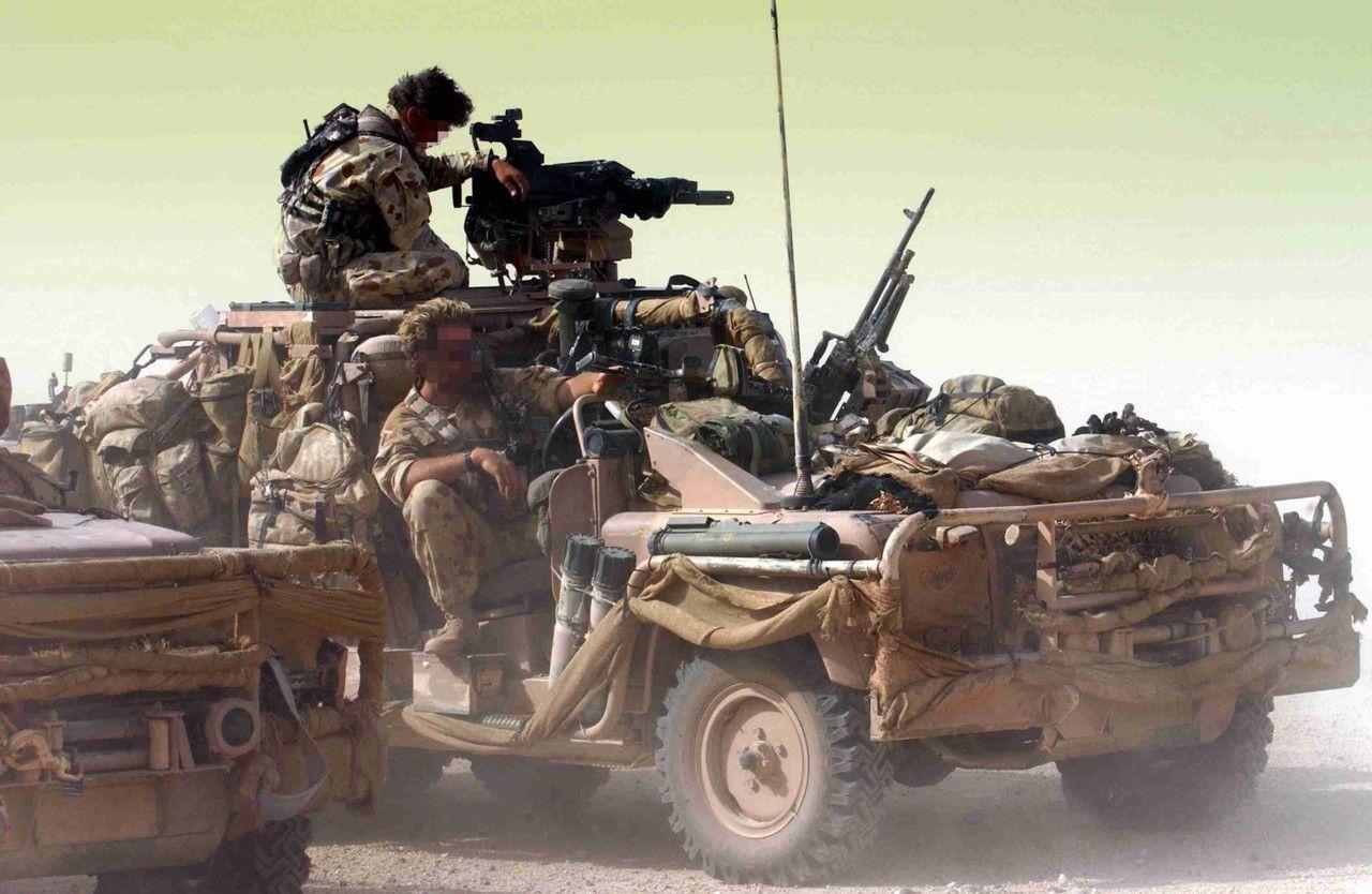 """""""Ozzie ozzie ozzie""""Australian SAS?"""
