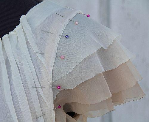 DIY Style NEW DIY |  Flutter Sleeve by Kristina J.