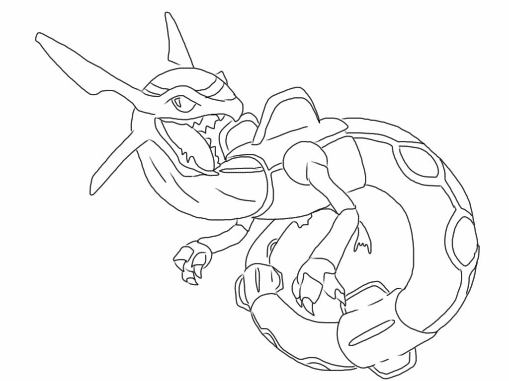 free rayquaza pokemon coloring page full size downloadable printer friendly pdf file on - Rayquaza Coloring Pages