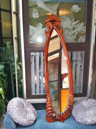 Khaleesi  Koa Hand Crafted Mirror  $1,400 on Craigslist