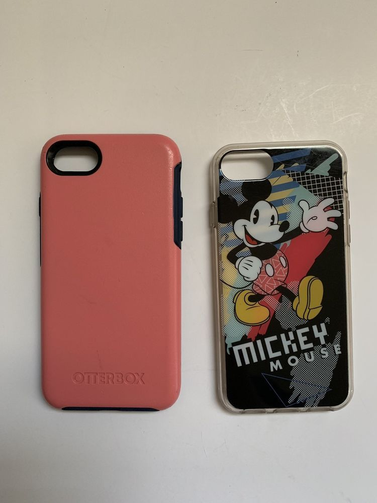 factory authentic d0e9b 1a7bc Lot Of 2 Iphone 7 Cases- Disney Tech Mickey Mouse/ Otterbox ...