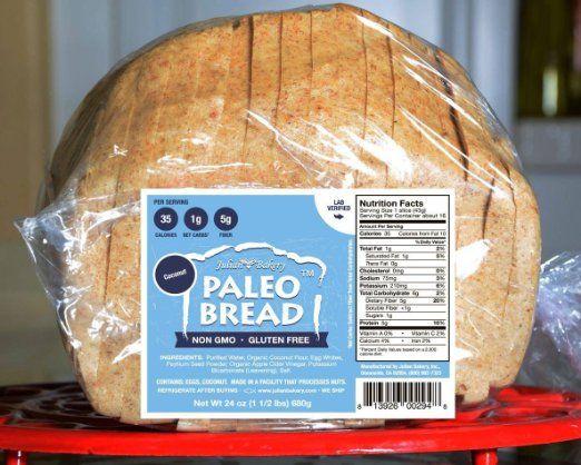 Paleo Bread -Coconut (1 Net Carb): Amazon.com: Grocery & Gourmet Food