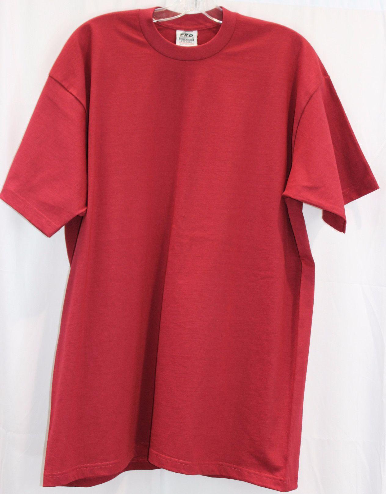9968cbe9 **ALL COLORS, TALL & REGULAR SIZES** Pro 5 Super Heavy No Pocket Short  Sleeve BIG MENS T-Shirt