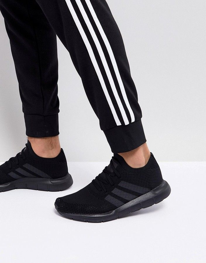 the best attitude 1d8ab d4145 adidas Swift Run Primeknit Sneakers In Black CQ2893