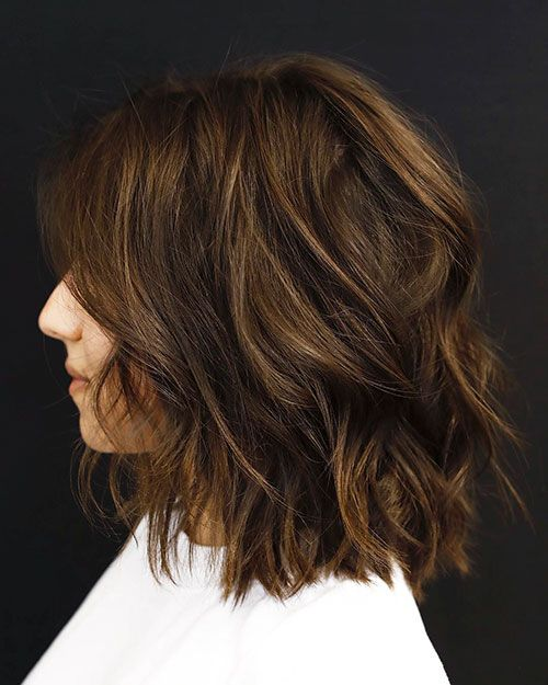 Short Haircuts For Thick Wavy Hair Short Hairstyles For Thick Hair Haircut For Thick Hair Thick Wavy Hair