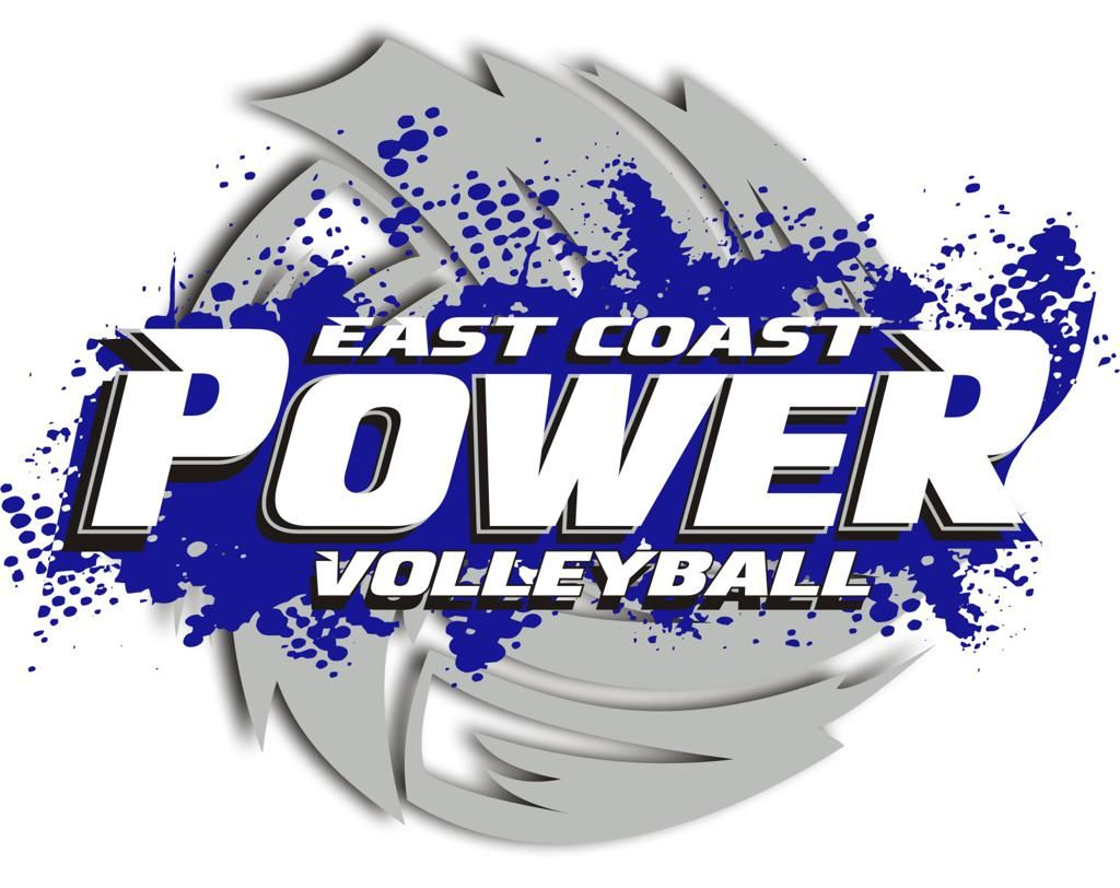 Pin By Joe Blow On Volleyball Logo Logos East Coast Volleyball