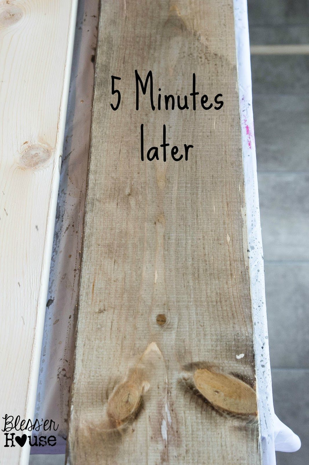 The Most Inexpensive All Natural Wood Stain Method ...