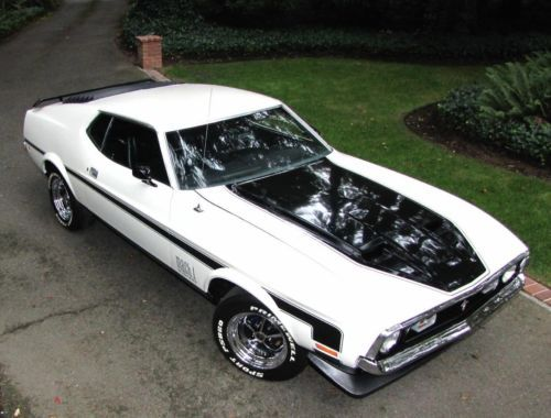 1972-FORD-MUSTANG-MACH-1-FACTORY-4-SPEED-IN-PRISTINE-CONDITION-OVER-30K-INVESTED