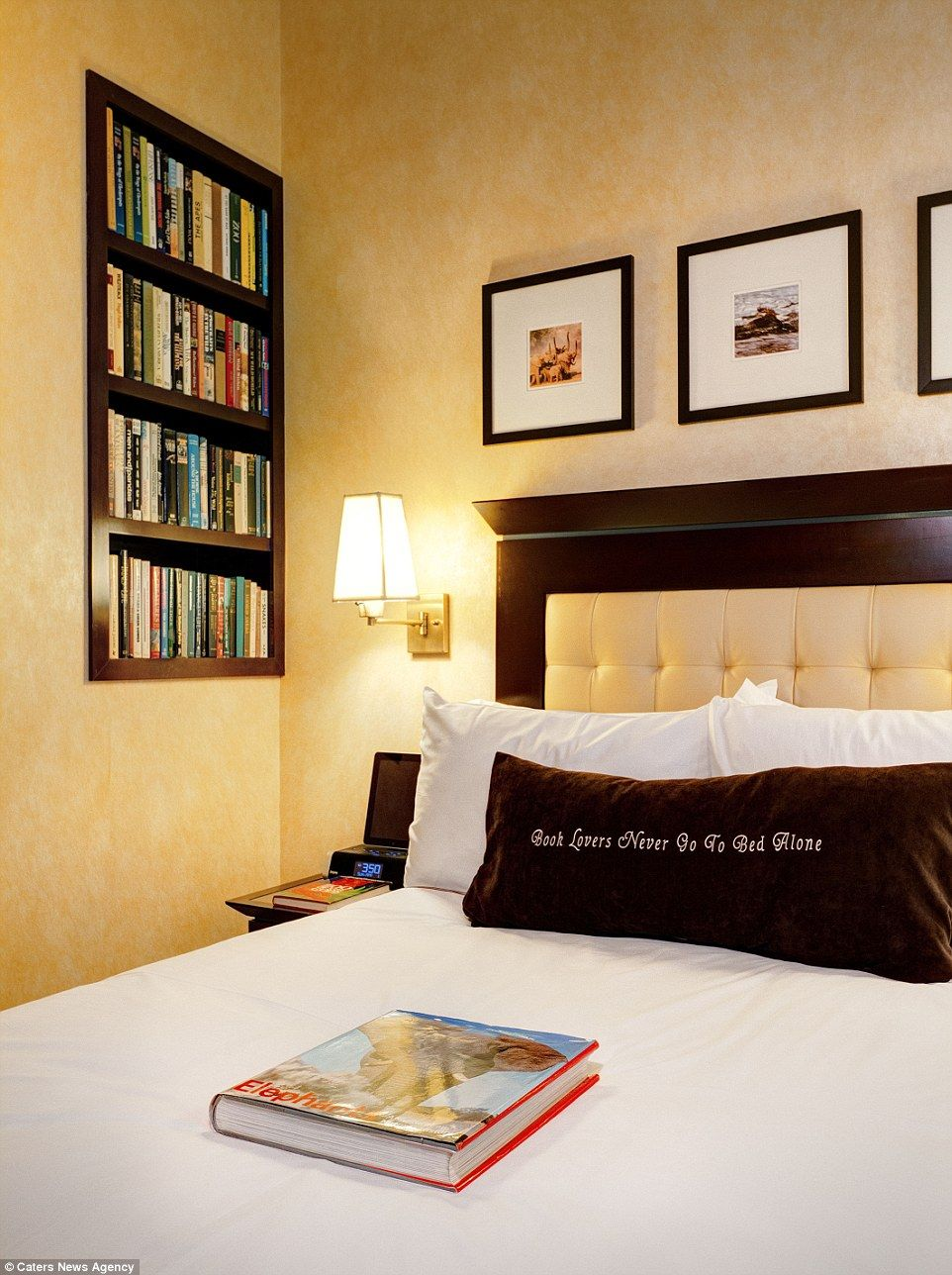 New York Hotel Designs Rooms According To Dewey Decimal System