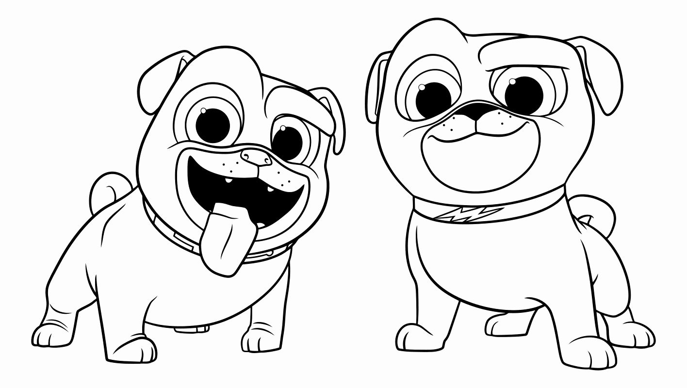 Coloring Pages Of Puppies Elegant Puppy Dog Pals Coloring Pages To And Print For Free Puppy Coloring Pages Coloring Pictures Coloring Pages