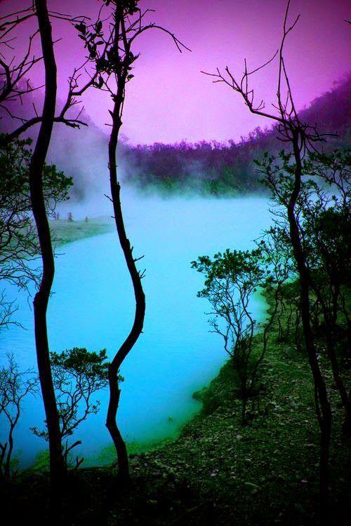 Amature Photography Tuquoise Mist Indonesia Beautiful
