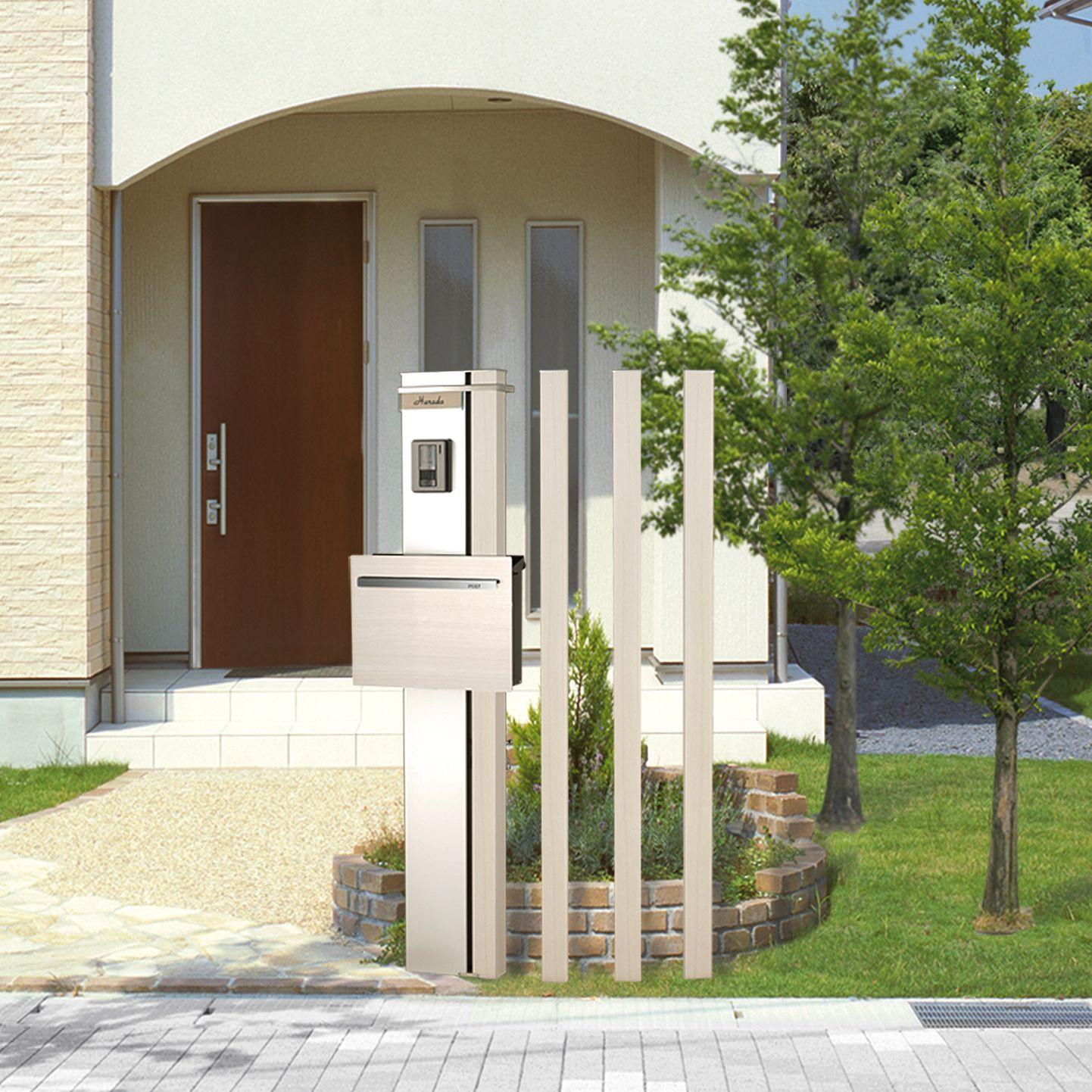 オプションの柱との組み合わで多彩なレイアウトが可能な アルミ機能