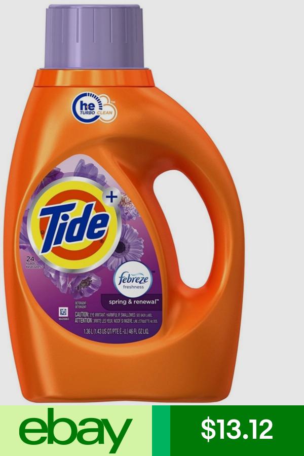 Tide Detergents Home Garden Ebay Tide Detergent Liquid