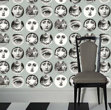 Tema E Variazioni Wallpaper, Fornasetti Collection, Cole & Son