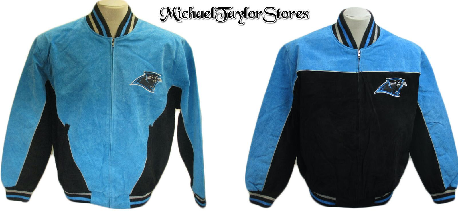 separation shoes 633f4 50809 Details about Carolina Panthers Men's Full-Zip Polyester ...