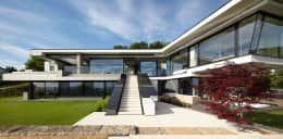 Moderne häuser mit viel glas  Exklusive Waldgrundstücke zwischen Berlin und Potsdam ...