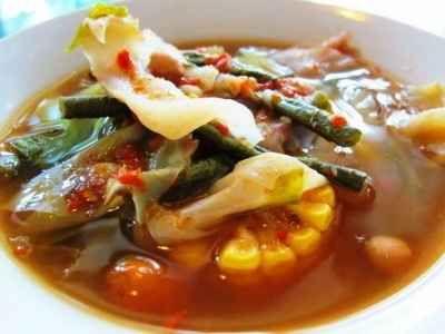 Resep Sayur Asem Sunda Asli Kacang Merah Sederhana Bumbu Balado Resep Makanan Resep Sayuran
