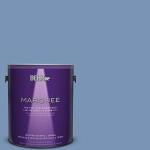 BEHR MARQUEE 1 gal. #T13-5 Belladonna Eggshell Enamel Interior Paint 245401 at The Home Depot - Mobile