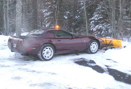 Advrider Snow Plow Corvette Classic Cars Muscle
